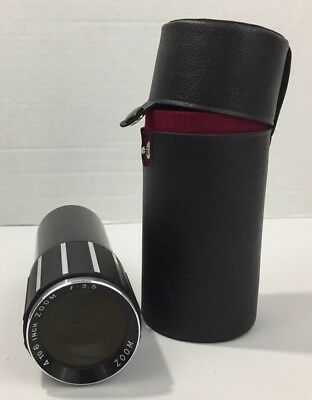 """Vintage ZOOM Lens 4"""" to 6"""" f:3.5 in Hard Case for Slide Projector FAST SHIPPING"""
