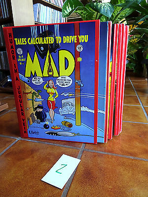 Color Mad Ec Library (Russ Cochran) Volumes 1-4 Issues #1-23 (Set2)