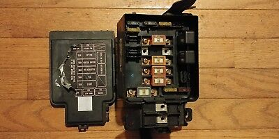 90-93 ACURA INTEGRA OEM under hood fuse box with fuses and relays ...