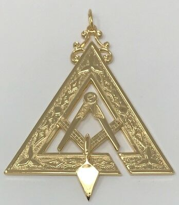 New Royal & Select Prince Hall Illustrious Master Officer Jewel