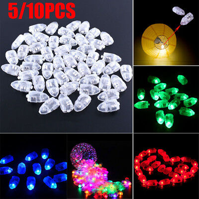 5/10pcs LED Light Flash Bulb Balloon For Lamp Paper Lantern Wedding Party Decor