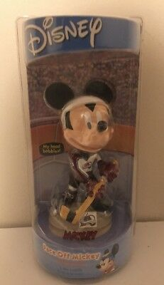 Rare Disney Face Off Mickey Mouse Colorado Avalanche NHL Bobblehead NEW SEALED