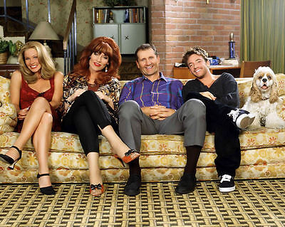 Married With Children Glossy Cast 8 X 10 Photo