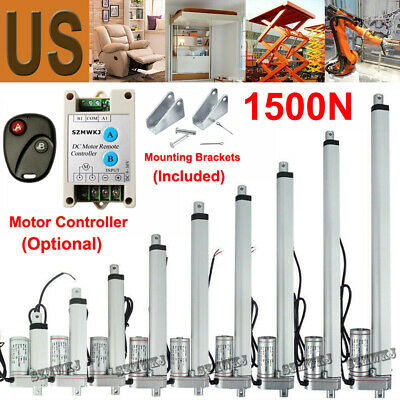 """1500N 2""""-18"""" Heavy Duty Linear Actuator Electric Motor for Medical Auto Car Lift"""