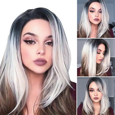 18 '' femmes courtes droites BOBO perruque synthétique cheveux cosplay perruque