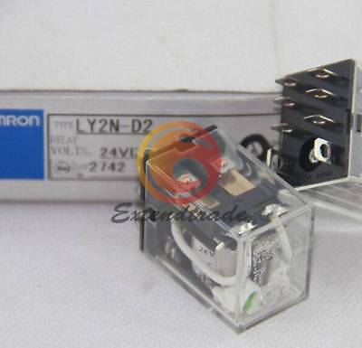 Omron NEW Relay LY4N-D2 24VDC