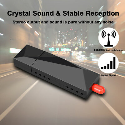 DAB+ Receiver Digital Radio Tuner USB Dongle For XTRONS Android 7.1/8.0 Car DVD