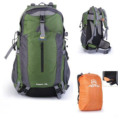 40L Outdoor Backpack Hiking Bag Camping Travel Waterproof Day Pack Climbing BAG