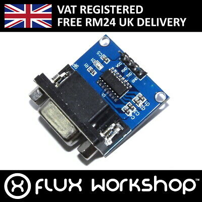 RS232 Serial Module MAX3232 TTL Programmer Raspberry Pi Arduino Flux Workshop