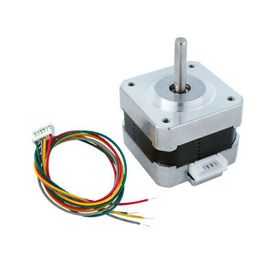 NEMA 17 12V Stepper Motor Control 2 Phase 0.4A 1.8° 26Ncm 3D Printer CNC Toy DIY