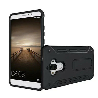 Heavy Duty Shock Proof Builders Hard Case Cover With Stand For Huawei Mate 9
