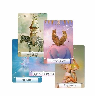 2018 knowledge oracle divination cards 52 wisdom tarot cards guidance English