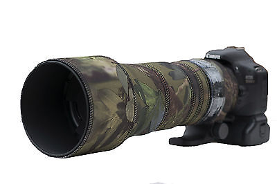 Sigma 150 600mm CONTEMPORARY Protection Neoprene lens cover Woodland Green Camo