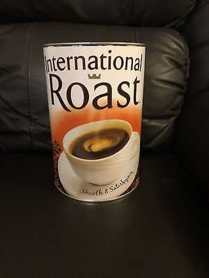 International Roast Coffee 1kg Tin Brand New Unopened RRP: $45.00