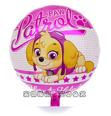 45cm 18inch Paw Patrol Skye Helium Foil Balloon Girl Kids Party Favor Xmas Gift