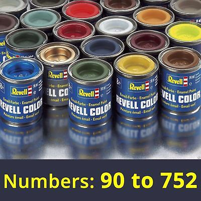 Revell 14ml Enamel Paints - Numbers: 90 to 752 (Part 2)  Find complete selection
