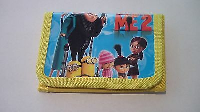 Childs Despicable Me 2 Wallet