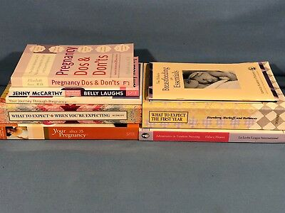 Pregnancy ~ Breast Feeding ~ Early Childhood ~ Educational Book Lot