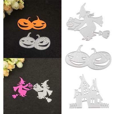 Halloween Cutting Dies Stencil Template for DIY Scrapbook Album Paper Card Craft