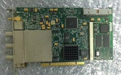 USED National Instruments NI PCI-5112 100MHz Digital Oscilloscope Board tested