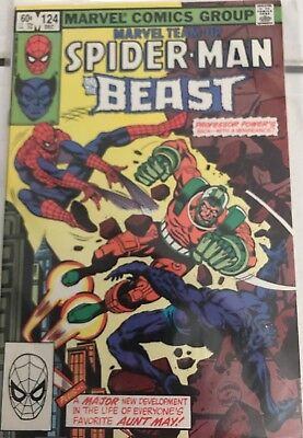 Marvel Team-Up Featuring Spider-Man And The Beast #124 Vfn/nm.
