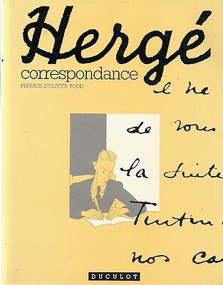 Tintin Hergé correspondence Letters selected and annotated