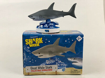 Shark Week Great White Shark Bobblehead