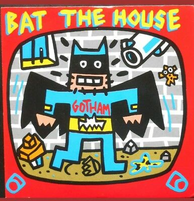 SPEEDY GRAPHITO bat the house vinyle 45tours GOTHAM Street art no Banksy