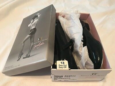 Girls American Ballet Theatre Black Tap Shoes Size 13