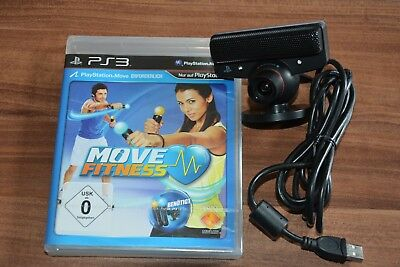 PlayStation move Kamera PS3 PS4 - Movie Fitness - noch in Folie