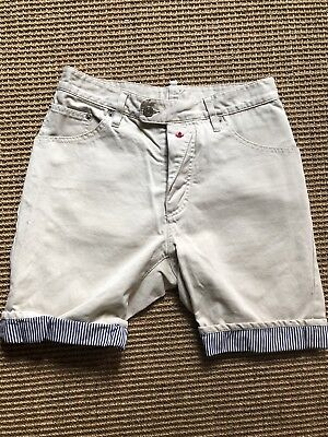 d49420f37e Dsquared2 Mens Chino Short With Blue White Fabric Detail Size EU46 US30