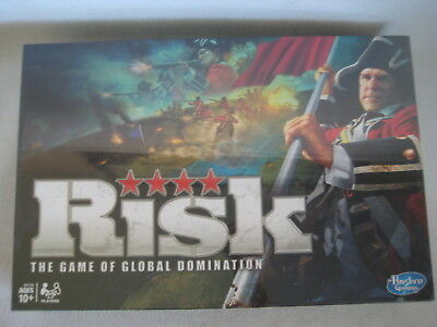 New Sealed RISK The Game of Global Domination 2010 Hasbro War Army Board Game