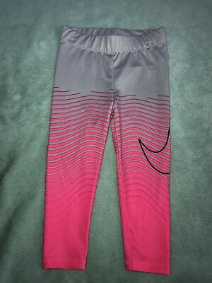 aaf64dc2a0f13 New Nike Grey Pink Dri Fit Athletic Pants Leggings 2T Toddler Girls Nwt
