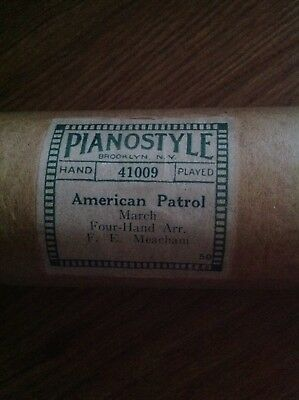 American Patrol - Pianola Style 41009 - Pianola roll
