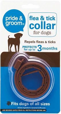 FLEA AND TICK COLLAR for dogs over 12 weeks old