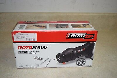 Roto Zip SS355-10-RT Drywall Router Kit New