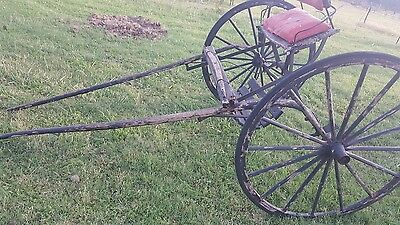 Antique horse drawn cart carriage buggy wagon MAKE OFFERS