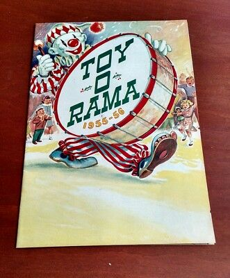 vintage 1955 56 toy o rama christmas toy catalog