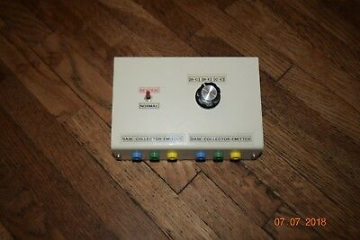 Teishin Base Collector Emitter Decade Resistance Substitution Box Test equipment