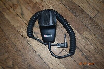 federal signal handheld mic model MNCT police fire ham radio