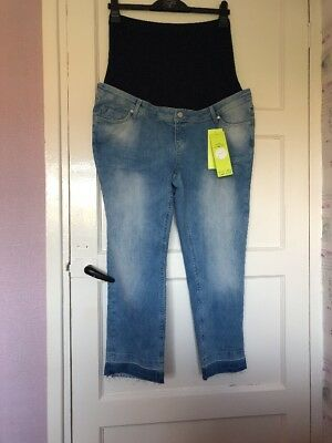 Brand New Maternity Jeans Blooming Marvellous Mothercare Size 20 Short Free Post
