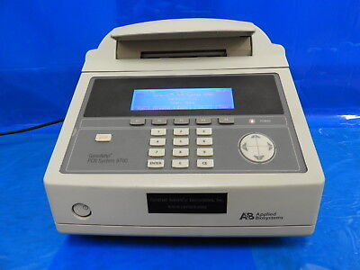 CSI/ABI 9700 Extreme Silver Block 96-well Thermal Cycler