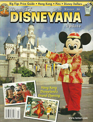 Tomart's Disneyana Update #62 Winter 2005 Hong Kong Disneyland, Disney Dollars