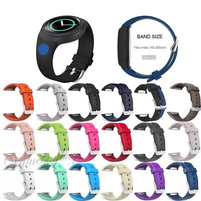 Replacement Sport Silicone Watch Band Strap Bracelet For Samsung Galaxy Gear S2