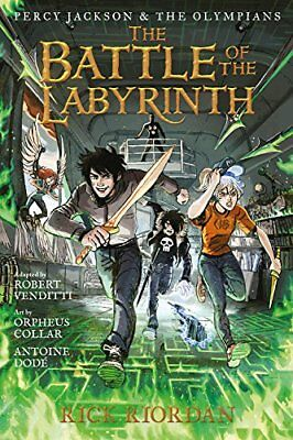 Percy Jackson & the Olympians the Battle of the Labyrinth bk 4 by Rick Riordan