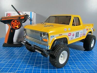 Custom Built Tamiya 1/10 RC Ford F150 Ranger XLT Sand Scorcher Racing Buggy ESC