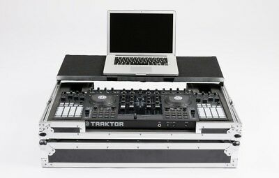 MAGMA DJ Controller Workstation S4F1 Flightcase Traktor Kontrol S4 F1 Party NEU