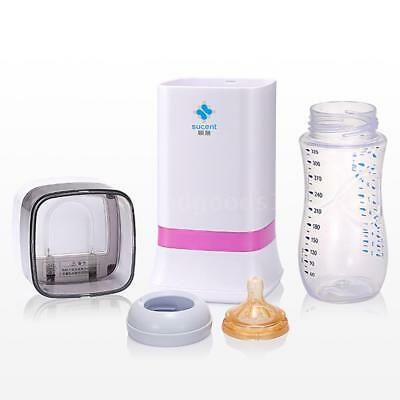 Wireless Electric baby Bottle Sterilizer UV Disinfector Ozone Clean Pacifier