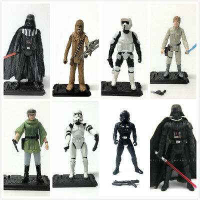 "Star Wars Epic Battles SCOUT TROOPER STORMTROOPER Luke 3.75"" figures hasbro toy"