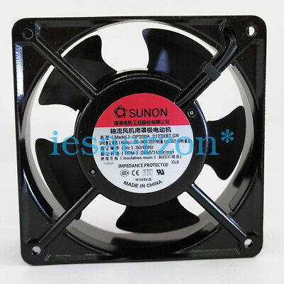 For SUnon DP200A 2123XBT.GN Axial cooling fan 120x120x38mm 230V 2850RPM